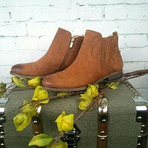 Franco Sarto, Kempton, leather, flat, ankle boots
